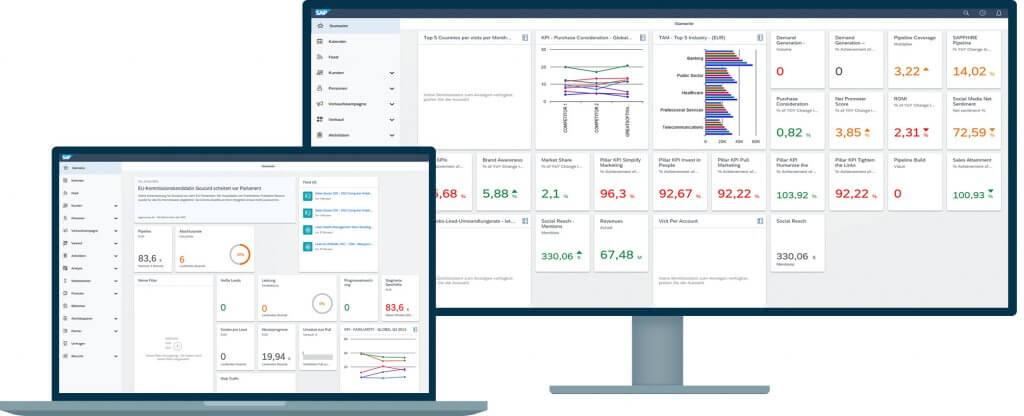 SAP Sales Cloud – Anwendung