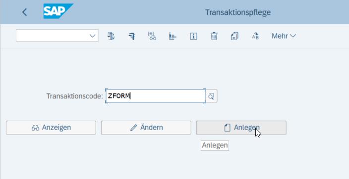 Vereinfachte Business Partner-Anlage mit Screen Personas ZFORM