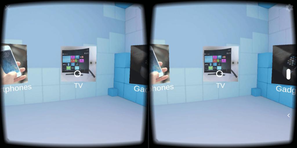 Entwicklung Virtual Reality-App_Screenshot Anwendung_1