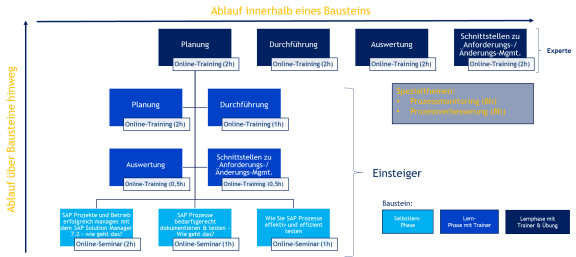 Lernpfad SAP-Prozesse dokumentieren